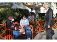 Başkan Bakkalcıoğlu'nun esnaf ziyaretleri devam ediyor