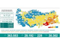 Karadeniz'de aşılamada 'mavi' olmayan 5 il kaldı