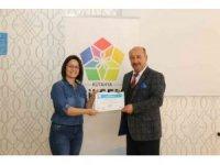 Projede görev alan öğretmenlere teşekkür belgesi