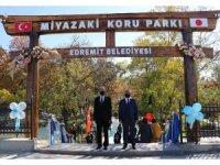 Van'da Miyazaki Koru Parkı açıldı