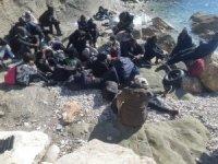 Fethiye'de 27 düzensiz göçmen kurtarıldı