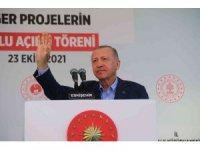 Cumhurbaşkanı Erdoğan Eskişehir'de vatandaşlara seslendi (1)
