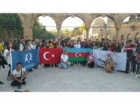 Kardeş ülke Azerbaycan'dan gelen gençler Balıklıgöl'ü gezdi