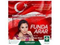 """Funda Arar Osmaniye'de """"Cumhuriyet"""" konseri verecek"""