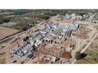 Aydın'ın sağlık yapısını güçlendirecek 'Aydın Şehir Hastanesi'nin yapımı tüm hızıyla sürüyor