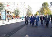 Malatya'daki Sivas Caddesi yenileniyor