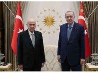 Cumhurbaşkanı Erdoğan-Bahçeli görüşmesi sona erdi