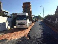 Nilüferköy'ün yolları sıcak asfaltla kaplandı