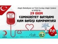 Başkan Tekin'den Kan bağış davetiye