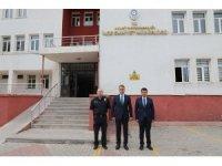 Vali Çağatay'dan Ahlat İlçe Emniyet Müdürü Coşar'a 'hayırlı olsun' ziyareti