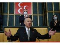 """MHP Genel Başkanı Bahçeli: """"Zalim bir üst akıl hem büyükelçileri hem zillet ittifakını dürte dürte harekete geçirmiştir"""""""