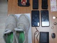 Kendisini askeri personel olarak tanıtan ve üç ayrı hırsızlık olayına karışan zanlı tutuklandı