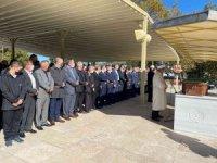 MHP İl Başkanı Demirköse, babasını son yolculuğuna uğurladı