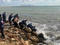 Tekirdağ'da denizde kaybolan kişi bulundu