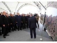 Erdoğan ve Aliyev, Karabağ'da kara yollarının temel atma törenine katıldı