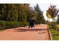 Atatürk Botanik Bahçesi sonbaharı selamlıyor