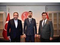 Dündar'dan MHP Osmangazi teşkilatına ziyaret