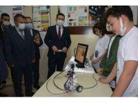 Öğrencilerin 24 eseri TÜBİTAK Bilim Fuarı'nda sergilendi