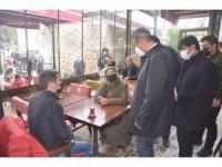 Sinop'ta vakalar arttı, vali denetim yaptı