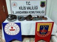 Köyleri elektriksiz bırakan hırsızlık zanlıları yakalandı