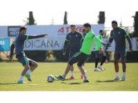 Konyaspor'da Fenerbahçe maçı hazırlıkları devam ediyor