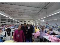 Vali Oktay Çağatay'dan Nur Yapı Tekstili Firması'na ziyaret