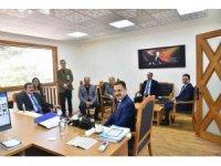 Vali Tavlı proje yönetim ofisini ziyaret etti