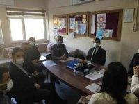 İlçe Milli Eğitim Müdürü Baş, okul ziyaretleri devam ediyor