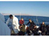 Datça açıklarında 31 düzensiz göçmen kurtarıldı