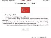 Sinop Orman Bölge Müdürlüğü kuruldu