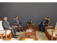 Milletvekili Yağcı ile İl Başkanı Yıldırım'dan üniversiteye ziyaret