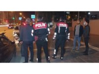 Gençlerin kavgasına polis ekipleri müdahale etti