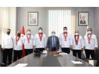 Kayseri Gastronomi ve Mutfak Sanatları Derneği'nden KAYÜ Rektörüne Ziyaret