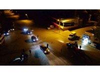 Muş polisi huzur ve güven için gece gündüz sokaklarda