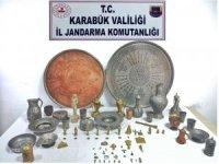 Karabük'te 76 adet tarihi eser ele geçirildi