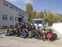 Bitlis'te 38 göçmen yakalandı