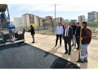 Başkan Çınar, yol yenileme hizmetlerini inceledi