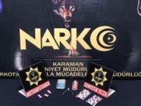 Karaman'da uyuşturucu ticareti yapan şüpheli tutuklandı