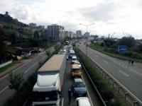 Trabzon'da motorlu kara taşıt sayısı bir yılda 11 bin 122 adet arttı