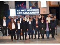 Başkan Çerçi partililerle buluştu