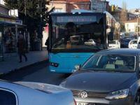 İstanbul'un en uzun otobüsü!