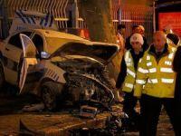 İstanbul'daki trafik kazasında 1 polis şehit oldu