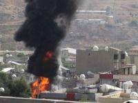 Cizre'de yangın: 9 ölü 25 yaralı