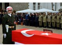 Sur'da şehit olan askerler için uğurlama töreni