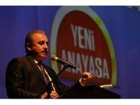 """Şentop: """"Mevcut Anayasa Ruhunu Teslim Ederse Türkiye'nin Anayasa Sorunu Çözülür"""""""