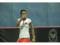 Milli tenisçilerden müthiş son