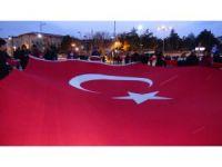 Sivaslılar artan terör eylemlerini protesto etti