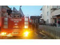Elektrikten Çıkan Yangın Korkuttu