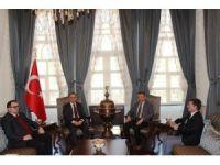 Suriye Geçici Hükümeti Bakanlarından Valiliği Ziyaret