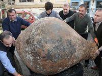 Balıkçı ağına antik çağdan kalma küp takıldı